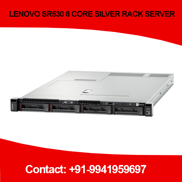 LENOVO SR530 8CORE SILVER RACK SERVER price Chennai, Hyderabad