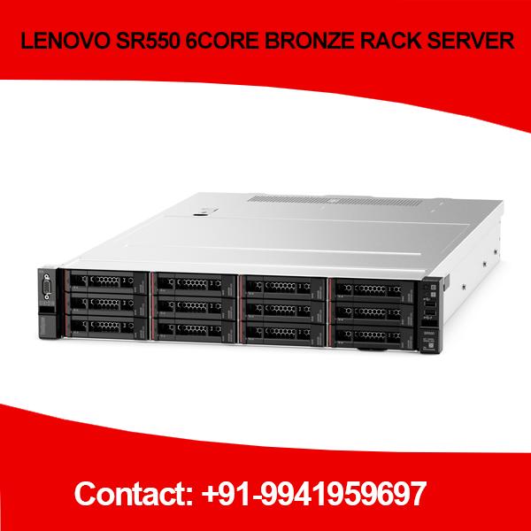 LENOVO SR550 6CORE BRONZE RACK SERVER in Chennai, Hyderabad, andhra, India, tamilnadu