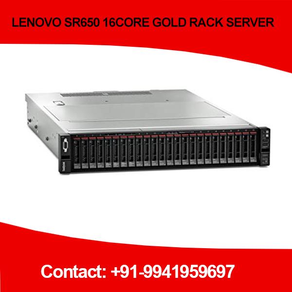 LENOVO SR650 16CORE GOLD RACK SERVER in Chennai, Hyderabad, andhra, India, tamilnadu