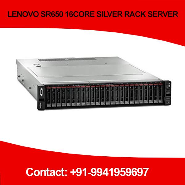 LENOVO SR650 16CORE SILVER RACK SERVER price Chennai, Hyderabad