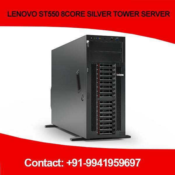 LENOVO ST550 8CORE SILVER TOWER SERVER in Chennai, Hyderabad, andhra, India, tamilnadu