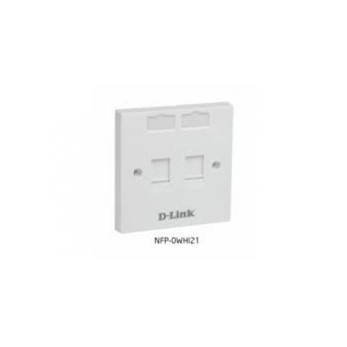 D Link NFP 0WHI21 2 Dual Face Plate in Chennai, Hyderabad, andhra, India, tamilnadu
