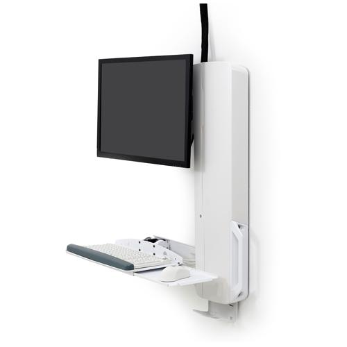 Ergotron StyleView Sit Stand Vertical Lift High Traffic Area in Chennai, Hyderabad, andhra, India, tamilnadu
