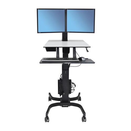 Ergotron WorkFit C Dual Sit Stand Workstation in Chennai, Hyderabad, andhra, India, tamilnadu