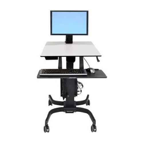 Ergotron WorkFit C Single HD Sit Stand Workstation in Chennai, Hyderabad, andhra, India, tamilnadu