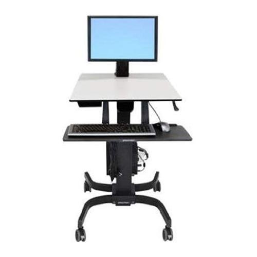 Ergotron WorkFit C Single LD Sit Stand Workstation in Chennai, Hyderabad, andhra, India, tamilnadu