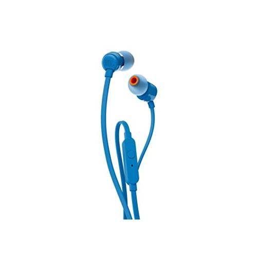 JBL T110 Wired In Blue Ear Headphones in Chennai, Hyderabad, andhra, India, tamilnadu