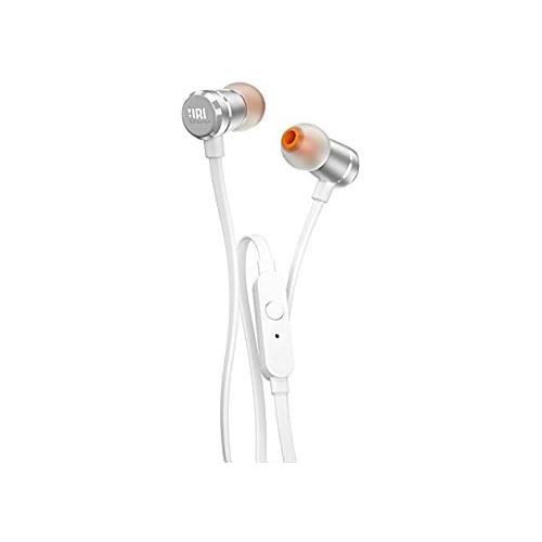 JBL T290 Wired In Silver Ear Headphones in Chennai, Hyderabad, andhra, India, tamilnadu