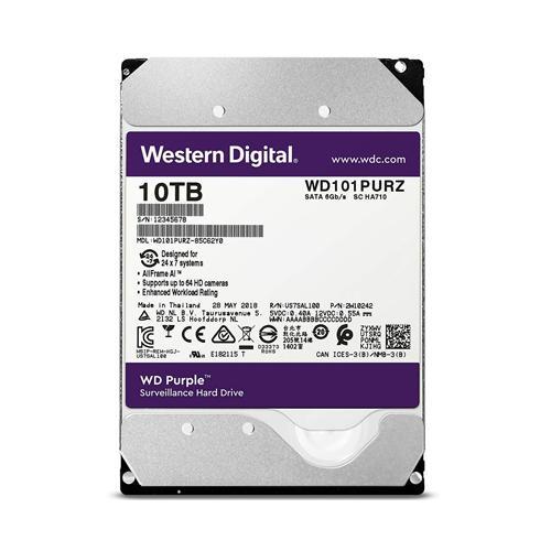 Western Digital Purple 10TB Surveillance Hard Drive in Chennai, Hyderabad, andhra, India, tamilnadu